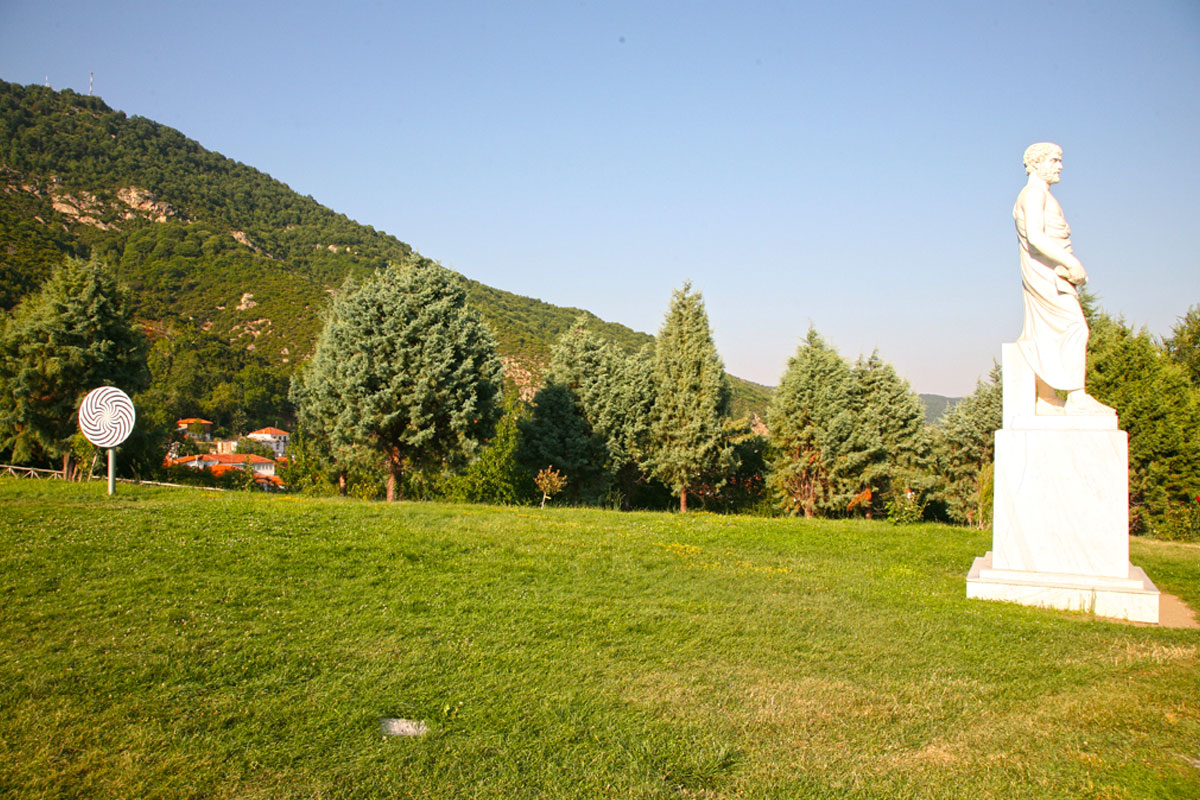 Aristotle park Halkidiki