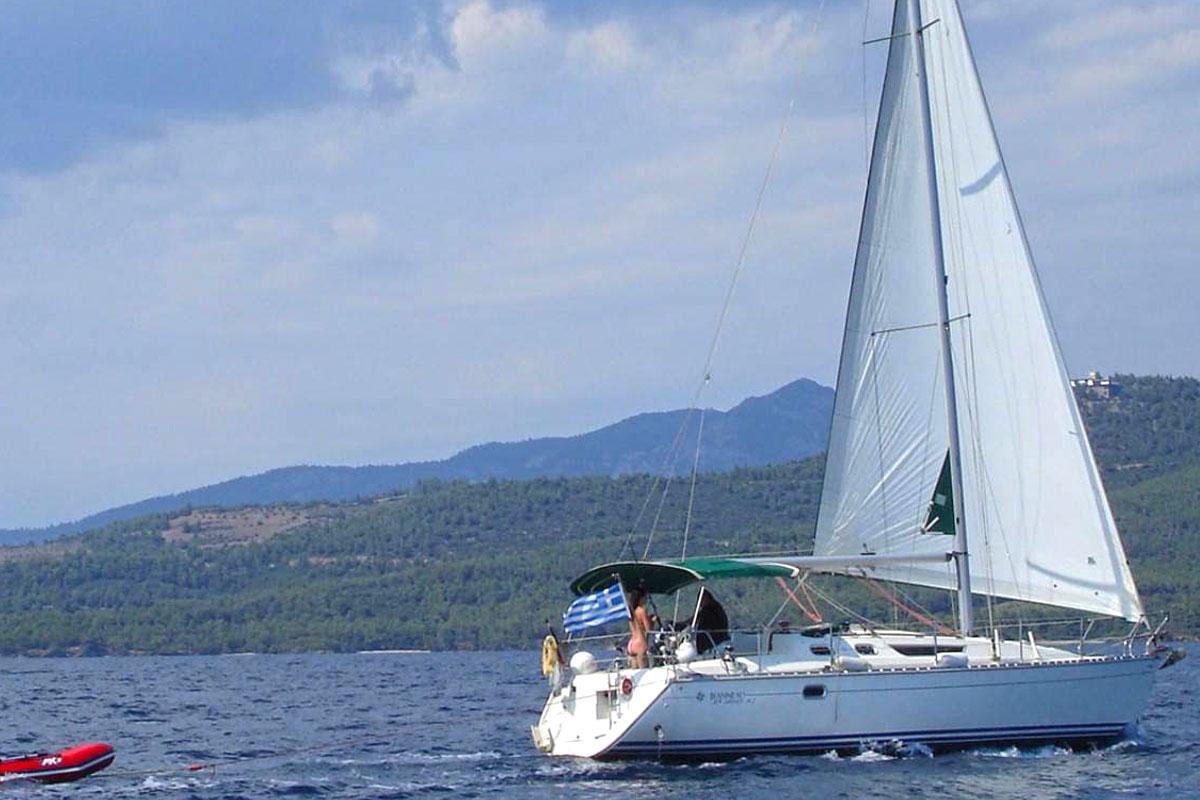 Sailing Sithonia Halkidiki