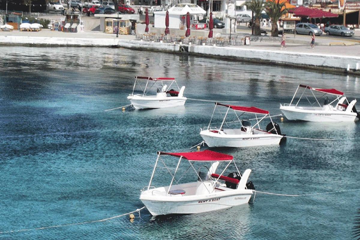 Rent a boat in Neos Marmaras